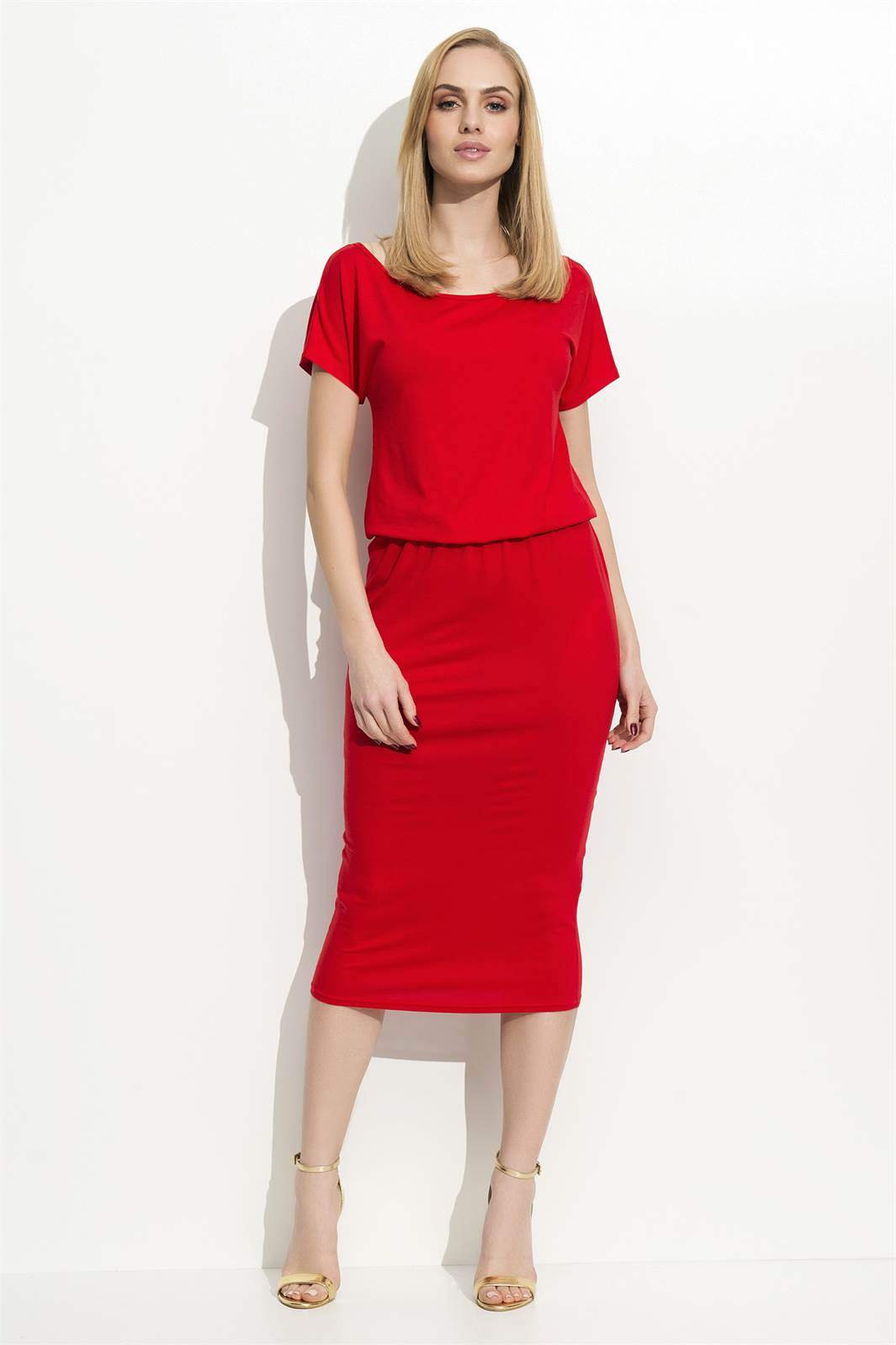 Šaty Folly F05 červené  8c1936d5bc