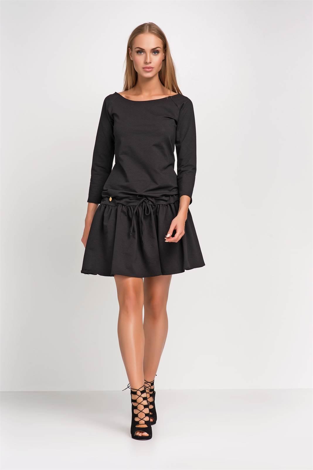 6084e56ac20e Dámské šaty Makadamia M264 černé